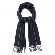 GANT Striped Lambswool Scarf - 410 - Size: ONE SIZE