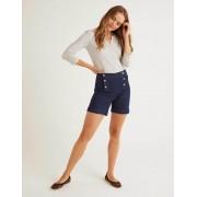 Boden Blau Fife Shorts Damen Boden, 42 10cm, Denim