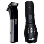 Bentag big beam torch flash light 2 mode and Trimmer AT-1107B