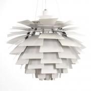 Poul Henningsen hanglamp Artisjok lamp 48cm wit