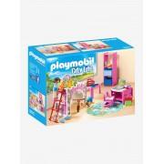 Playmobil 9270 Quarto Infantil, da Playmobil rosa medio liso com motivo