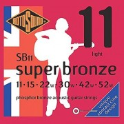 Rotosound SB11 Super Bronze Acoustic Guitar Strings (11 15 22 30 42 52)