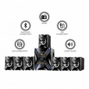 IKALL 7.1 Channel Bluetooth IK-5555 Home Theater System (Black)