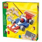Ses Creative 14582 - Voiture En Bois - Formule 1