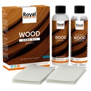 ROYAL Holzpflege Wood Care Kit Wax Oil + Cleaner 2x250ml