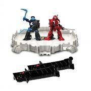 Tomy Battroborg Warrior Battling Robot Arena Samurai VS Ninja