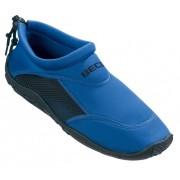 Beco Blauwe neopreen surf en waterschoen voor heren