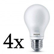 Philips Pack 4x Lightning Lâmpada LED 7W E27 Branco Neutro