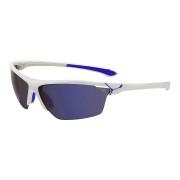 CEBE Ochelari de soare sport barbati Cebe CINETIK SHINY WHITE BLUE 1500 GREY FLASH + CLEAR + YELLOW