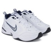 Nike AIR MONARCH IV Gym & Training Shoes For Men(White)