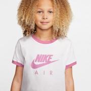 Nike T-shirt Nike Air, 6-16 anosBranco/Violeta- L