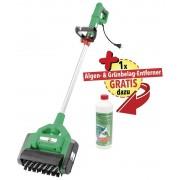 GartenMeister X-Brush Profi Power Reinigungsbürste inklusive Algen- und Grünbelag-Entferner.