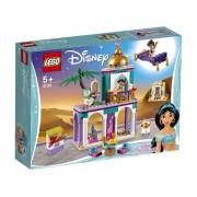 Lego Конструктор Lego Disney Princess Приключения Аладдина и Жасмин во дворце 193 дет. 41161