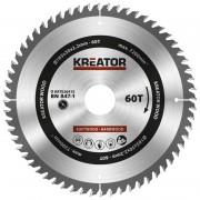 Panza de fierastrau circular de mana 185x2.2x30mm, Kreator KRT020415