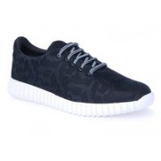 Shoe Mate Trendy Black casual shoes Casuals For Men(Black)