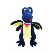 Jucarie din plus, Toys, Dragonel cel fioros, Bleumarin, 50 cm
