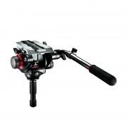 Manfrotto 504HD Tête panoramique pour trépied Pro Fluid Video-Neiger avec attache rapide 501PL