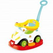 Masinuta 4 in 1 Ride on rocker, plastic rezistent, maxim 23 kg, 75 x 43 x 81 cm, 1 an+