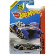 Hot Wheels 2014 Hw Race Team Blue Imparable Racing Car 149/250