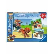 Puzzle Patrula Catelusilor, 3X49 Piese Ravensburger