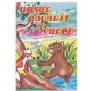 Ursul Pacalit De Vulpe - Ion Creanga - Carte De Colorat