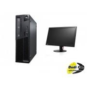 Lenovo tc 10b4s25x00 m73 sff int + lenovo 60c2hat1eu tv t2014 wide monitor