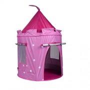 "Portable Pink Folding Play Kids Pop Up Tent Girl Princess Castle House 104cm x 140 cm( 41"" x 56'' )"