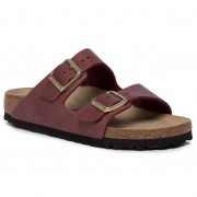 Birkenstock Klapki BIRKENSTOCK - Arizona Bs 1014902 Washed Metallic Port
