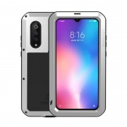 LOVE MEI Shockproof Dropproof Dustproof Case for Xiaomi Mi 9 - Silver