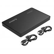 ORICO 2588C3-G2-BK 2.5 inch Aluminum Alloy USB3.0 Type-C Hard Drive Enclosure