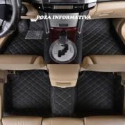 Covorase auto LUX PIELE 5D Audi Q5 2008-2017 ( 5D-027 cusatura bej )