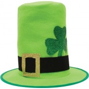 Creative Converting St. Patrick's Day Felt Top Hat with Buckle