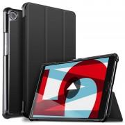 Bolsa Fólio Inteligente Tri-Fold para Huawei MediaPad M5 8 - Preta