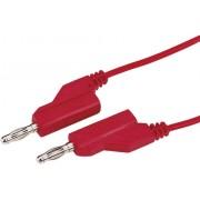 Cablu de măsurare Voltcraft 4 mm, 1 mm², roşu