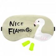 Masca Dormit 'Nice Flamingo' si Antifoane Interne Urechi