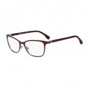 Fendi Rame ochelari de vedere dama Fendi FF 0011 7SQ RED PALLADIUM OPALE BURGUNDY
