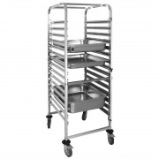 Gastronorm Trolley 15 Shelf GN 2/1
