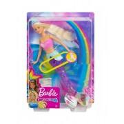 Mattel Barbie Magiczna Syrenka świecący ogon GFL82 /4