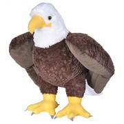 Wild Republic Cuddlekins Jumbo Bald Eagle Plush