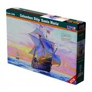 MisterCraft Mcd212 1: 270 Scale Columbus Ship Santa Maria Model Kit