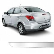 Friso Porta Malas Chevrolet Novo Prisma Cromado Resinado