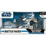 Star Wars 3.75 Inch Scale Battle Pack - Episode V: Hoth Speeder Bike Patrol by Hasbro