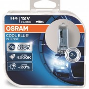 Osram Cool Blue Intense 64193CBI H4 60/55W 2db/csomag