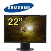 "Samsung Monitor Lcd 22"" Samsung Syncmaster 2243bw 1680 X 1050 Vga Refurbished Nero"