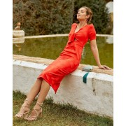 Lady Pipa Vestido Camile rojo