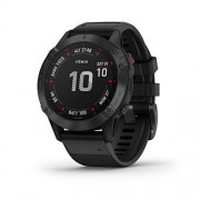 Garmin Fénix 6 Pro Negro con Correa Negra 47mm Smartwatch Premium Multideporte GPS Integrado WiFi Bluetooth