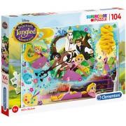Puzzle Printesele Disney Rapunzel Clementoni 104 piese