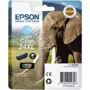 Epson ORIGINALE EPSON T2435 LIGHT CIANO C13T24354012 PER EPSON XP750 XP850 XP860 XP950 XP55 24XL C13T24354010 740 PAGINE 9.8ml