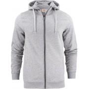 Printer Hooded Sweat Vest Overhead Man 2262051 Grijs-Melange - Maat L