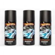 Hot Wheels Performance Deodorant for Boys Pack of 3 Combo 150ML each 450ML